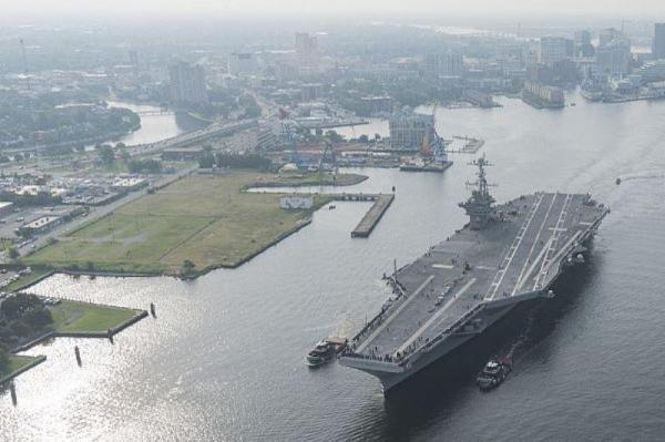 USS-Harry-Truman-starts-sea-trials-after-maintenance-upgrade-work