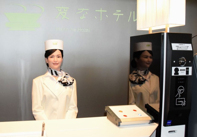 Hotel offering near-futuristic experiences