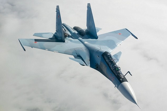Russian Su-30 fighter jet