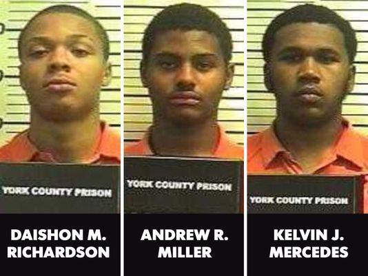 Rape suspects.