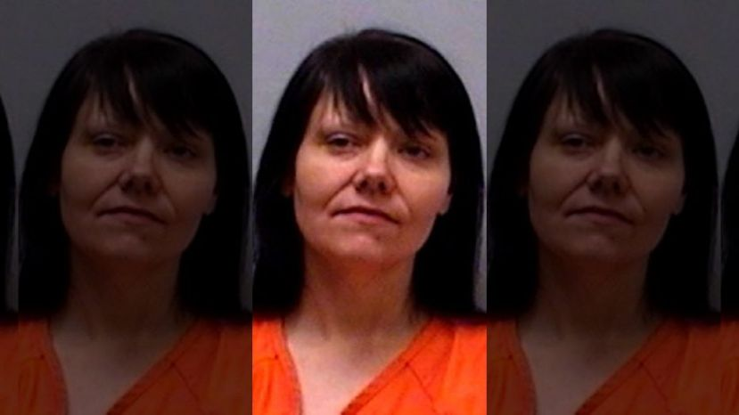 Lorrie Marie Hocker, 42, fled from an inmate van on the way to a work assignment,