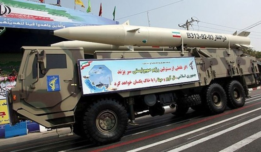 Iran unveils the Zulfiqar ballistic missile