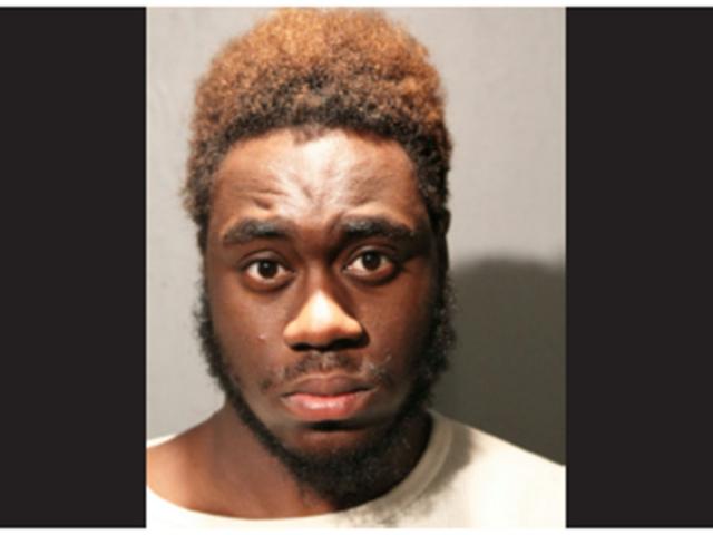 The accused attacker, Derek Larbie, 20,