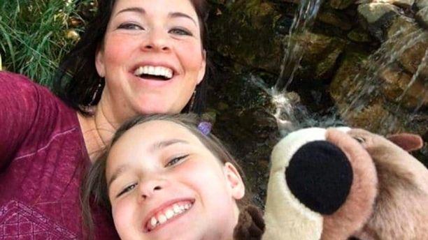 Karina Clark, daughter, Madison.