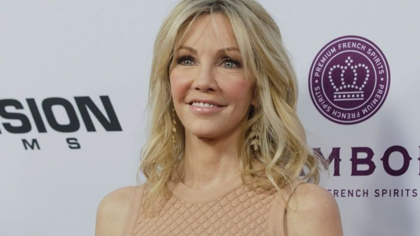 Actress Heather Locklear
