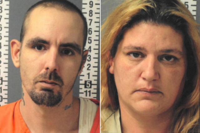 Joshua Weyant, 34, and his 39-year-old wife Brandi Weyant, of Halifax,