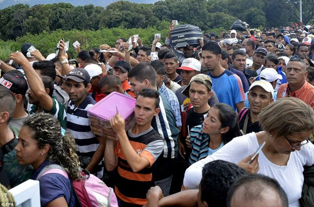 Colombia is attempting to deal with the mass migration at an uncertain period