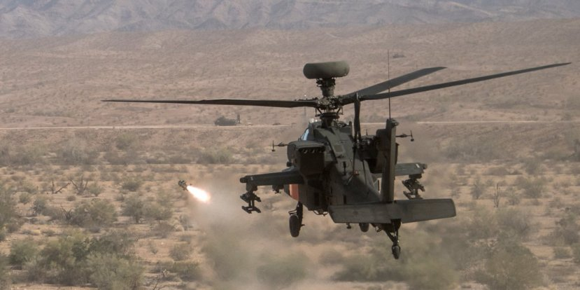 Pilots fire the new Joint Air-to-Ground Missile during testing at Cibola Range,