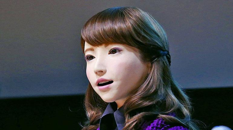 A robot named Erica is due to become an on-air news anchor in Japan.