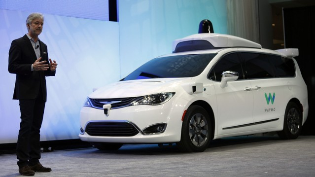 Waymo's driverless car