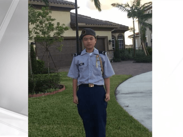 Peter Wang, 15, was one of the students killed in Florida this past week.