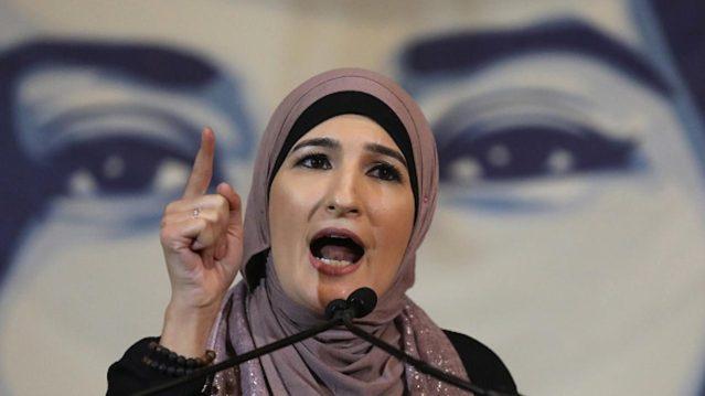 Immigration activist Linda Sarsour