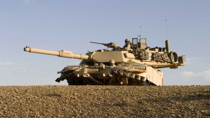 U.S. Army M1 Abrams tank