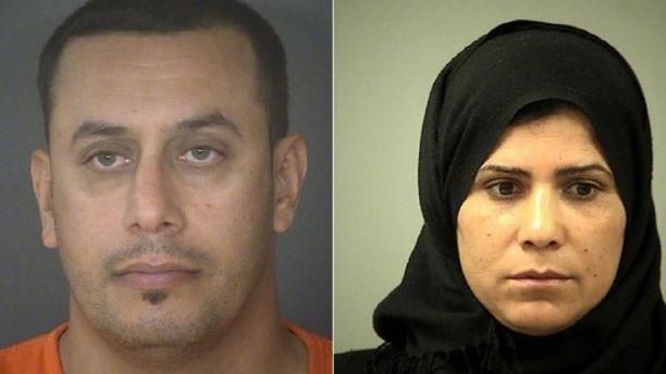 Abdulah Fahmi Al Hishmawi, 34, and Hamdiyah Saha Al Hishmawi, 33