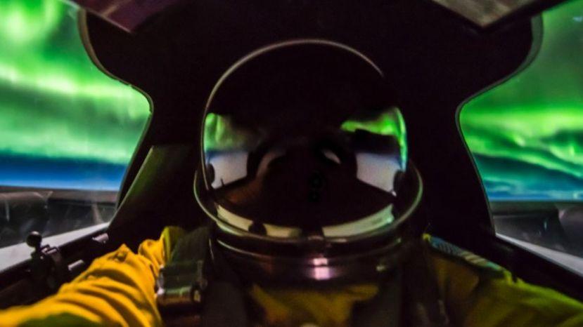U.S. Air Force pilot Ross Franquemont