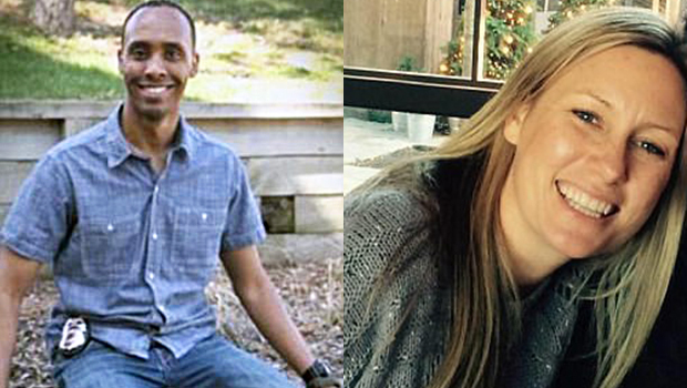 Officer Mohamed Noor and Justine Damond