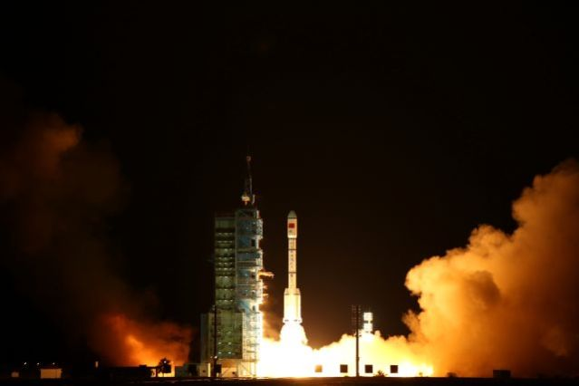 Tiangong-2, China's second space laboratory,