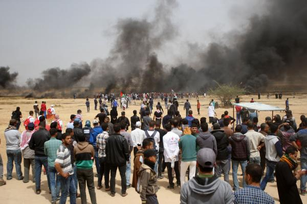 demonstrations along the Gaza-Israel border