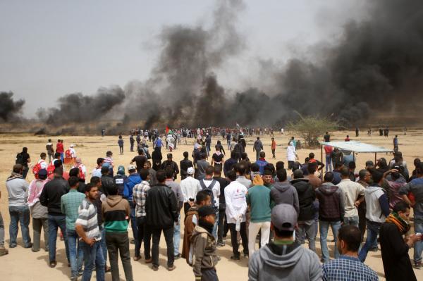 demonstrations along the Gaza-Israel border