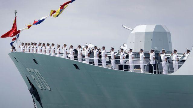China war ship