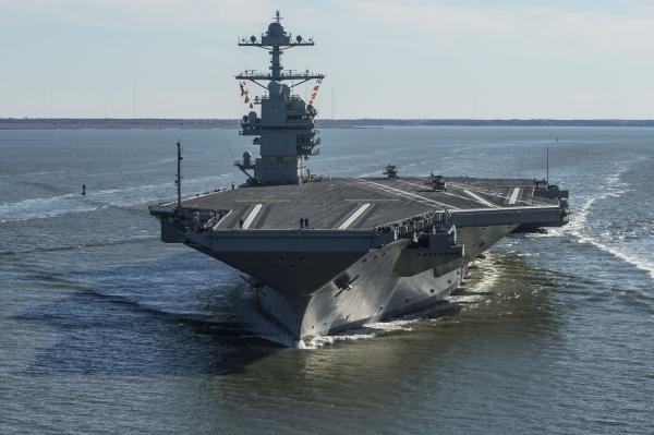 HII-contracted-for-repairs-upgrades-on-USS-Gerald-R-Ford