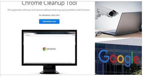 Chrome's built-in anti-virus tool