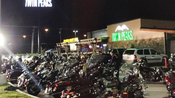 Twin Peaks Restaurant in Waco, Texas.