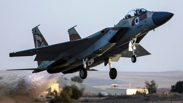 Dec. 15, 2013: An Israeli Air Force F-15I fighter jet takes off