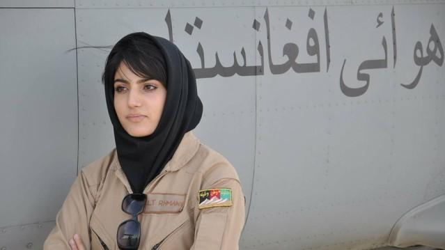 Niloofar Rahmani, Afghanistan's first female