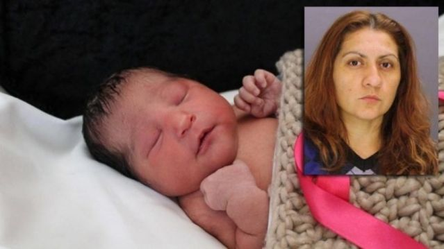 Baby Sophia Victoria Gonzalez Abarca, who went missing after her mother was shot to death,