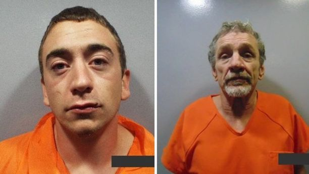 Zachary Shock, 24, and Johnny Tipton, 61, escaped from White County Jail
