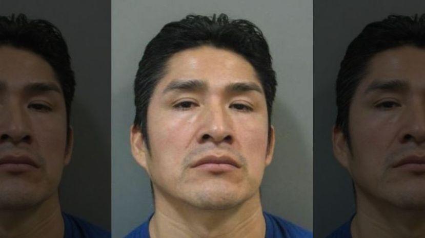 Reynaldo Mora, 41, was arrested