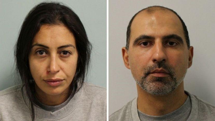 Sabrina Kouider, 35, and Ouissem Medouni, 40,