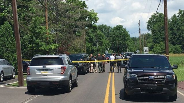 Authorities in Pennsylvania swarmed two homes