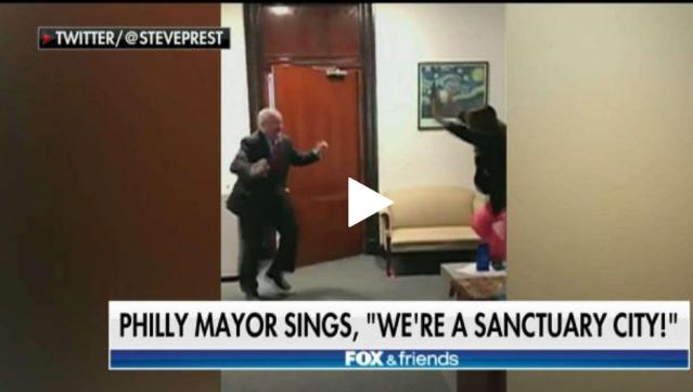 Mayor dances over Philly's sanctuary city status. PAMayor