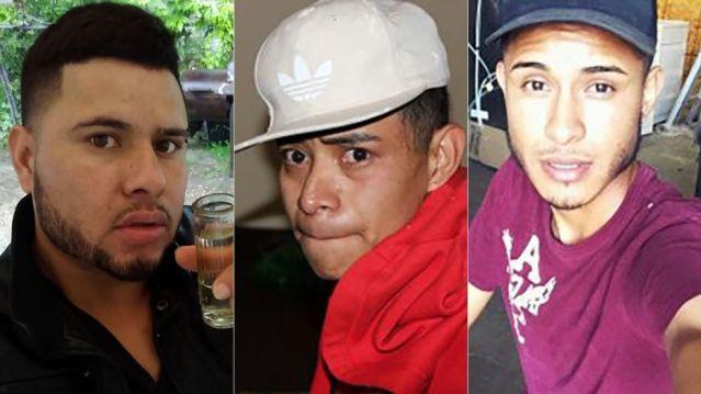 David Ramos Contreras, Rios Adiel and Arnuflo Ramos.  (Bowling Green Police)
