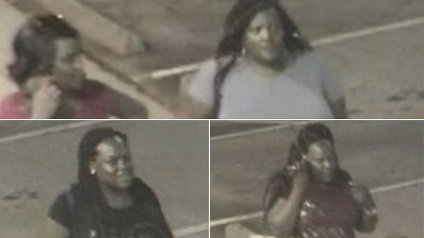 Images of the four women police are looking for.  (FOX5 Atlanta)