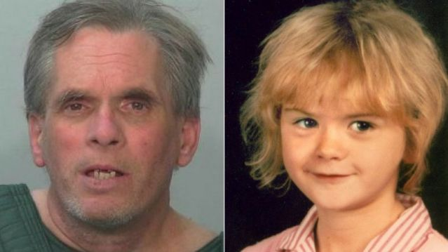 John D. Miller, 59, left, is accused of murdering 8-year-old April Tinsley