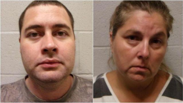 Jimmy Jones Sr., 34, and Amy Jones, 46,