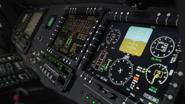 New Black Hawk cockpit (Northrop Grumman)