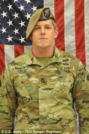 Sergeant First Class Christopher Andrew Celiz died in Paktia Provinc