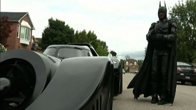 Batman was busted! Global News
