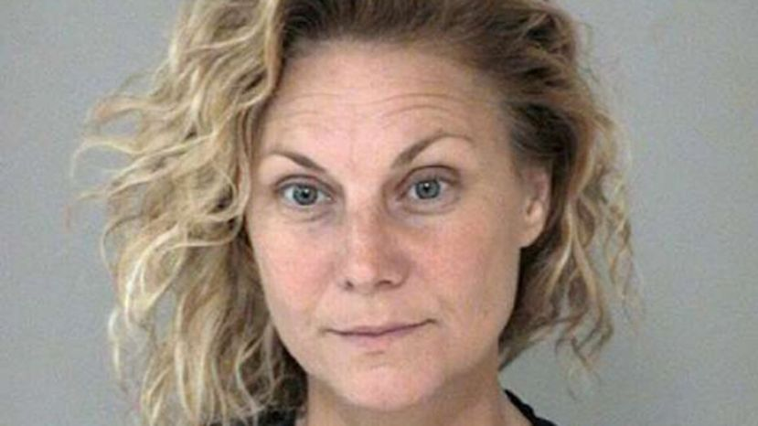 Amanda Hayes was convicted last week of tampering with evidence