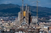Sagrada Familia cathedral (pictured), one of the leading tourist attractions in the city,