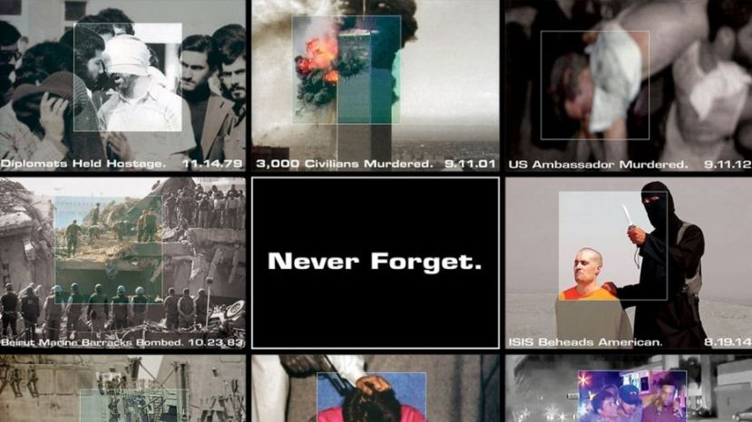 "The bias incident team at Ripon College ruled that YAF's ""Never Forget"" posters are biased against Muslims"