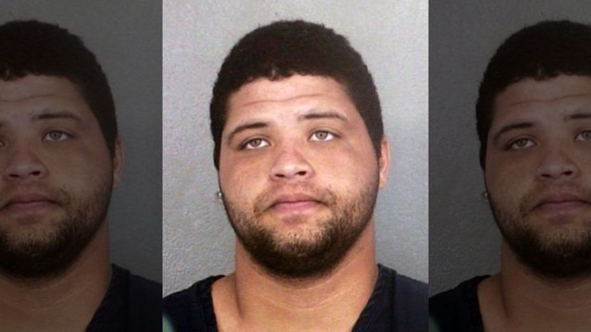 Omar Enrique Perez who is suspected of the shooting deaths of three people