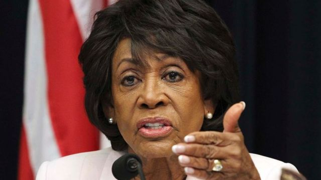 Rep. Maxine Waters (D-Calif.) told a raucous crowd that she would