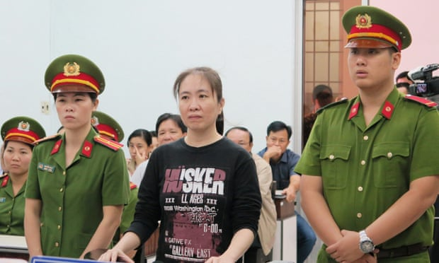 The Vietnamese blogger Nguyen Ngoc Nhu Quynh