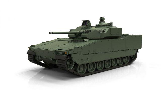 CV90 MkIV (BAE Systems)