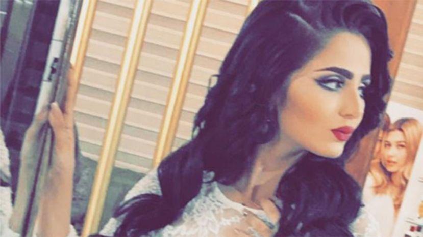 Former Miss Iraq Shimaa Qasim